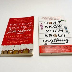 Don't Know Much About Literature 2 Books